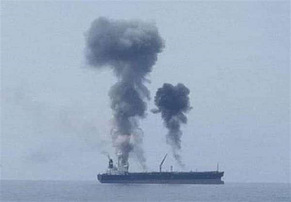 اسپوتنیک خبر داد: انفجار در یک نفتکش در بندر بانیاس سوریه