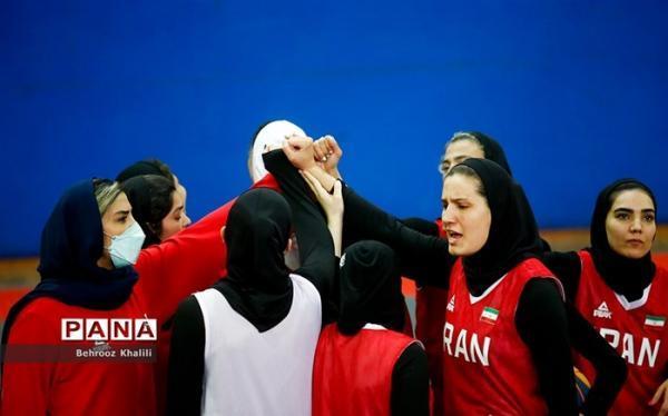 برنامه دیدارهای تیم ملی بسکتبال زنان ایران در انتخابی المپیک تغییر کرد