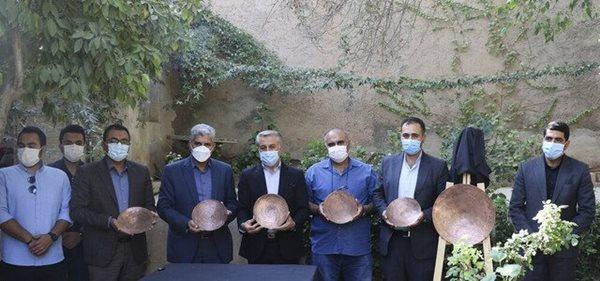 رونمایی از مولاژهای جام ارجان در شیراز