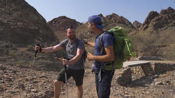 ماجراجویی در دبی؛ صعود به رشته کوه حجر